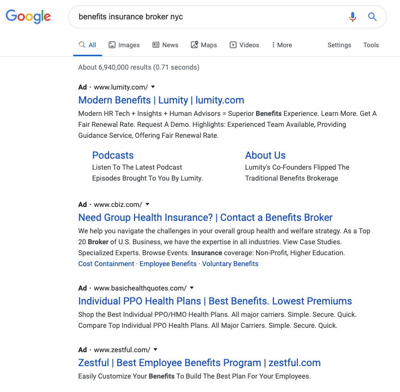 ppc ads on Google