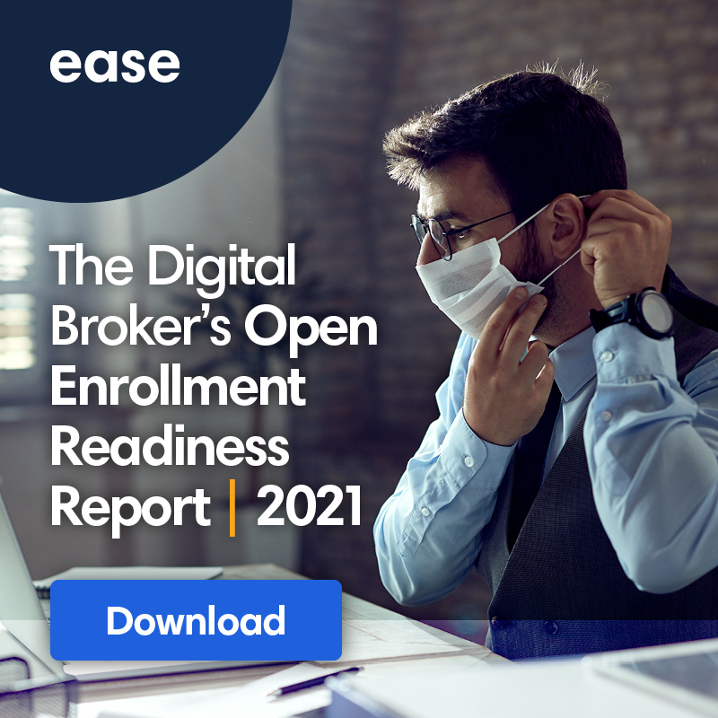 image link to download the digital broker's open enrollment readiness report